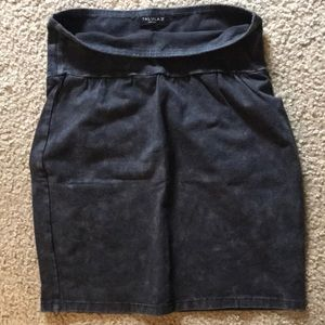 Women's mink skirt
